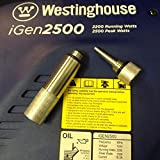 Feather butterfly Replace WESTINGHOUSE iGEN 2500 Inverter Generator Oil Fill Drain Plug Combo KIT