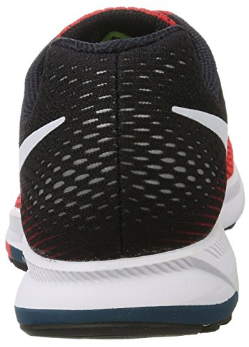 Nike Air Zoom Pegasus 33, Zapatillas de Running Para Hombre Rojo (Univ Red/white/brt Crimson/black/legion)