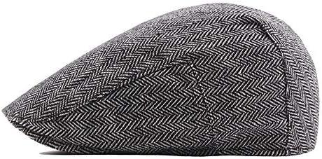 帽子 ベレー帽 メンズ 通勤 ハンチング アウトドア UVカット おしゃれ 帽子 SGSJP (Color : コーヒー, Size : 56-58cm)