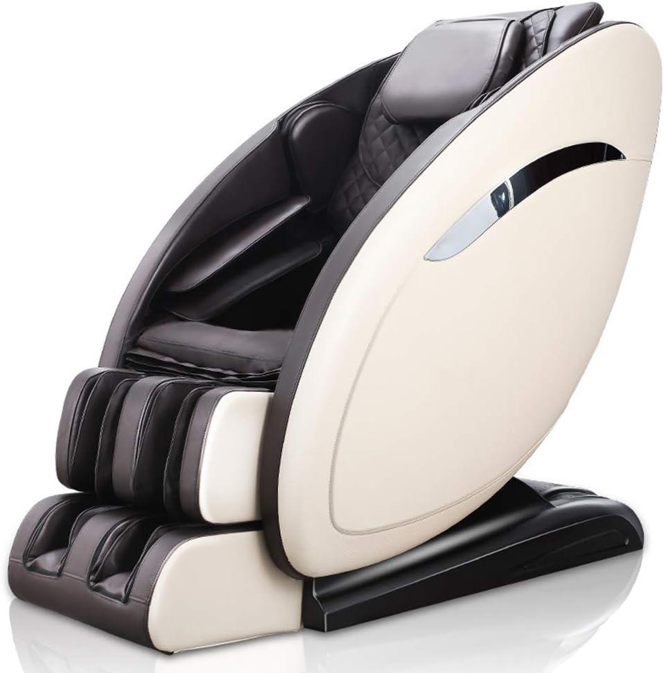 YXRPK 9 Programas de la Gravedad Cero Masaje 3D magnética Silla Profesional relajación Shiatsu Sillón ionizador y calefacción