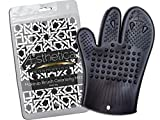 Aesthetica Cosmetics Makeup Brush Cleansing Mitt - Silicone Brush Cleaning Glove - Eco-friendly, Vegan & Cruelty Free