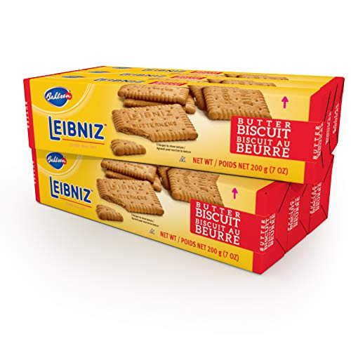 Bahlsen Leibniz Butter Biscuit Cookies (6 boxes) | Our classic original buttery biscuits (7 ounce boxes)