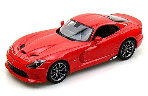 Maisto Dodge SRT Viper GTS, Red 31128 - 1/18 Scale Diecast Model Toy Car