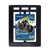 """Namsan Magnetic Automatic Lock/Lockable Pet Screen Door Dog Gate Way Pet Door for Screens - Larger 12"""" x 16"""""""