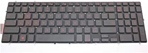 Laptop Keyboard for DELL Inspiron 5565 5567 7566 7567 7577 5765 5767 7773 7778 7779 5570 5575 5770 5775 7570 3590 US English Red keycap with Backlit New