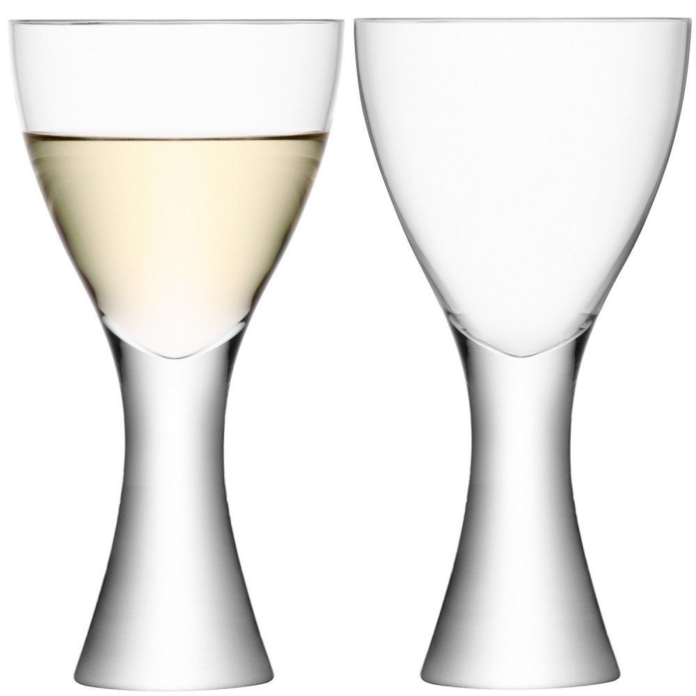 LSA Elina Wine Goblet - clear - Pair LSA International