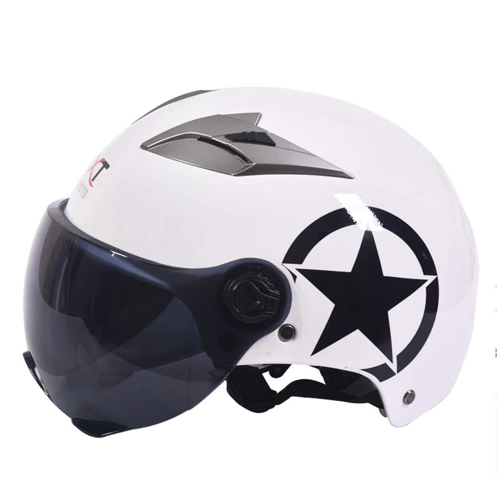 Casco de Motocross para Hombre, Desmontable, Gafas Abiertas, para ...