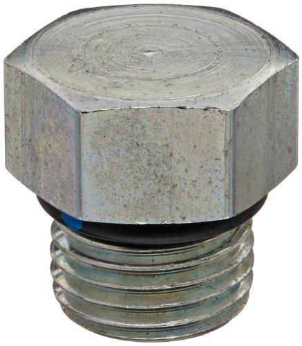 Eaton Aeroquip 900598-5S Steel Tube Fitting, Hex Head Plug, 5/16