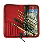 Silver Brush Tom Lynch Plein Air Travel 8 Piece Brush Set