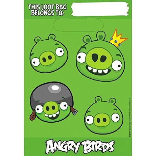 American Greetings Angry Birds Treat Bags,