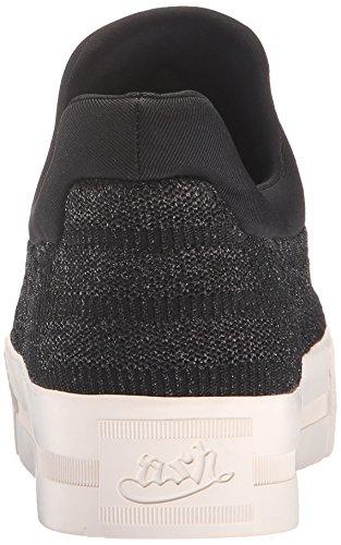 Sneaker Di Moda Donna Jaguar In Frassino Nero / Nero Lucido / Nero
