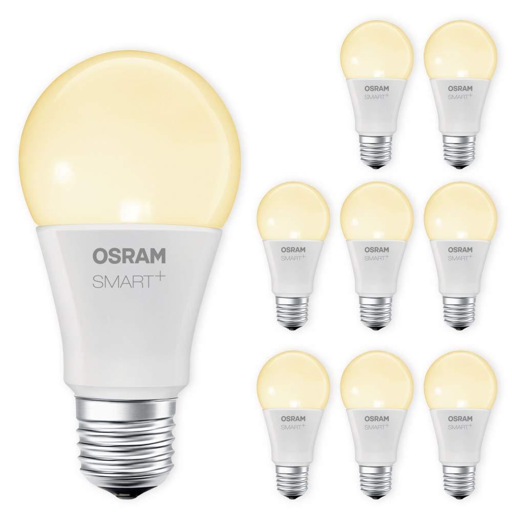 OSRAM SMART+ LED E27 Lampe 2700K warmweiß dimmbar Lightify Echo Alexa kompatibel Auswahl 9er Set