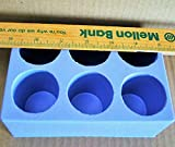 silicone VOTIVE Candle Mold 6 cavities super easy release homemade