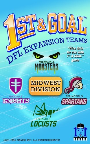 1st And Goal - Expansion  4 - Goal Midwest Division by R & R Games 24147d