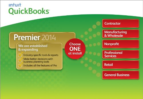 QuickBooks Premier Industry Editions 2014 [Download] image