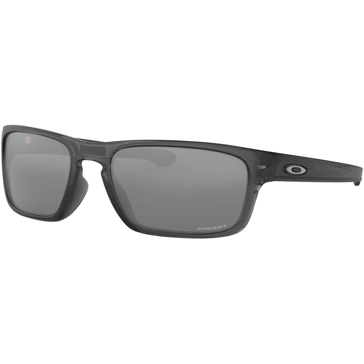 9807002a41 Amazon.com: Oakley Men's Sliver Stealth Non-Polarized Iridium Rectangular  Sunglasses, GREY SMOKE, 55.8 mm: Clothing
