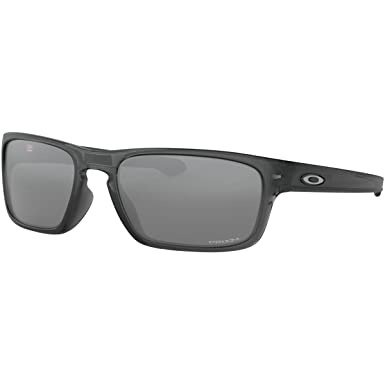 6ec7866cc03e4 Oakley Men s Sliver Stealth Non-Polarized Iridium Rectangular Sunglasses  GREY SMOKE 55.8 mm
