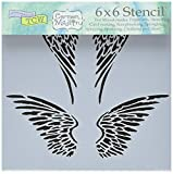 CRAFTERS WORKSHOP Bible Journaling Stencil - Angel
