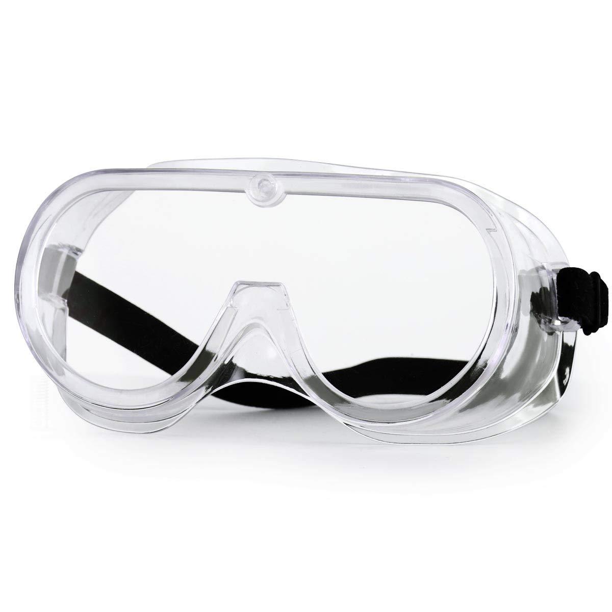 Gafas Protectoras NASUM, Gafas de Seguridad, Gafas a Prueba de Polvo, para Uso Industrial, Agrícola o de Laboratorio (1 Par)