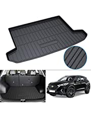 Powerty Compatible with Trunk Mat Hyundai Tucson 2016 2017 2018 2019 2020 2021 All Weather TPO Rear Cargo Liner Upgrade Material
