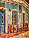 Greek Cafe Greece Architecture Restauran...