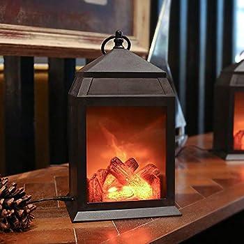 Amazon Com Lanterns Decorative With Flickering Flameless