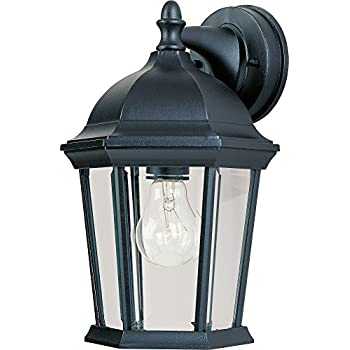 Maxim 1024bk Builder Cast 1 Light Outdoor Wall Lantern