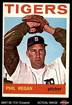 Amazoncom 1964 Topps 535 Phil Regan Detroit Tigers Baseball