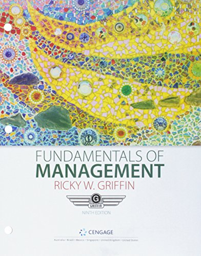 Bundle: Fundamentals of Management, Loose-leaf Version, 9th + MindTap Management, 1 term (6 months) Printed Access Card
