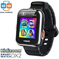 VTech Kidizoom Smartwatch DX2 Amazon Exclusivo, Negro