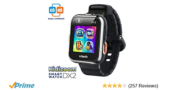 VTech KidiZoom Smartwatch DX2 Black (Amazon Exclusive)
