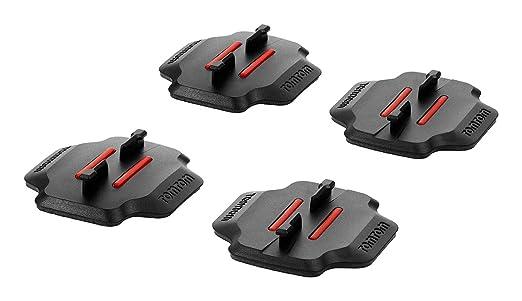 1 opinioni per TomTom Supporti Adesivi Piani e Curvi per Bandit Action Camera, Nero/Rosso