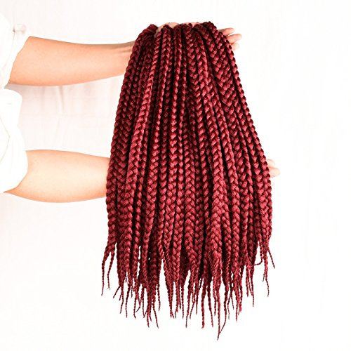 Crochet Extension Pretwisted Promotion Burgundy product image