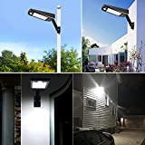 Solar Street Light Outdoor 48LEDs 900LM Waterproof