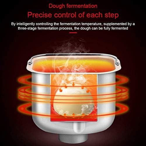 KOSGK Machine Pain électrique, Machine Pain numérique Tour, Machine Cuisson Pain grillé Intelligente, Mélangeur pâte fermenteur Yaourt Multifonctionnel Automatique