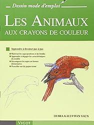 Les animaux aux crayons de couleur