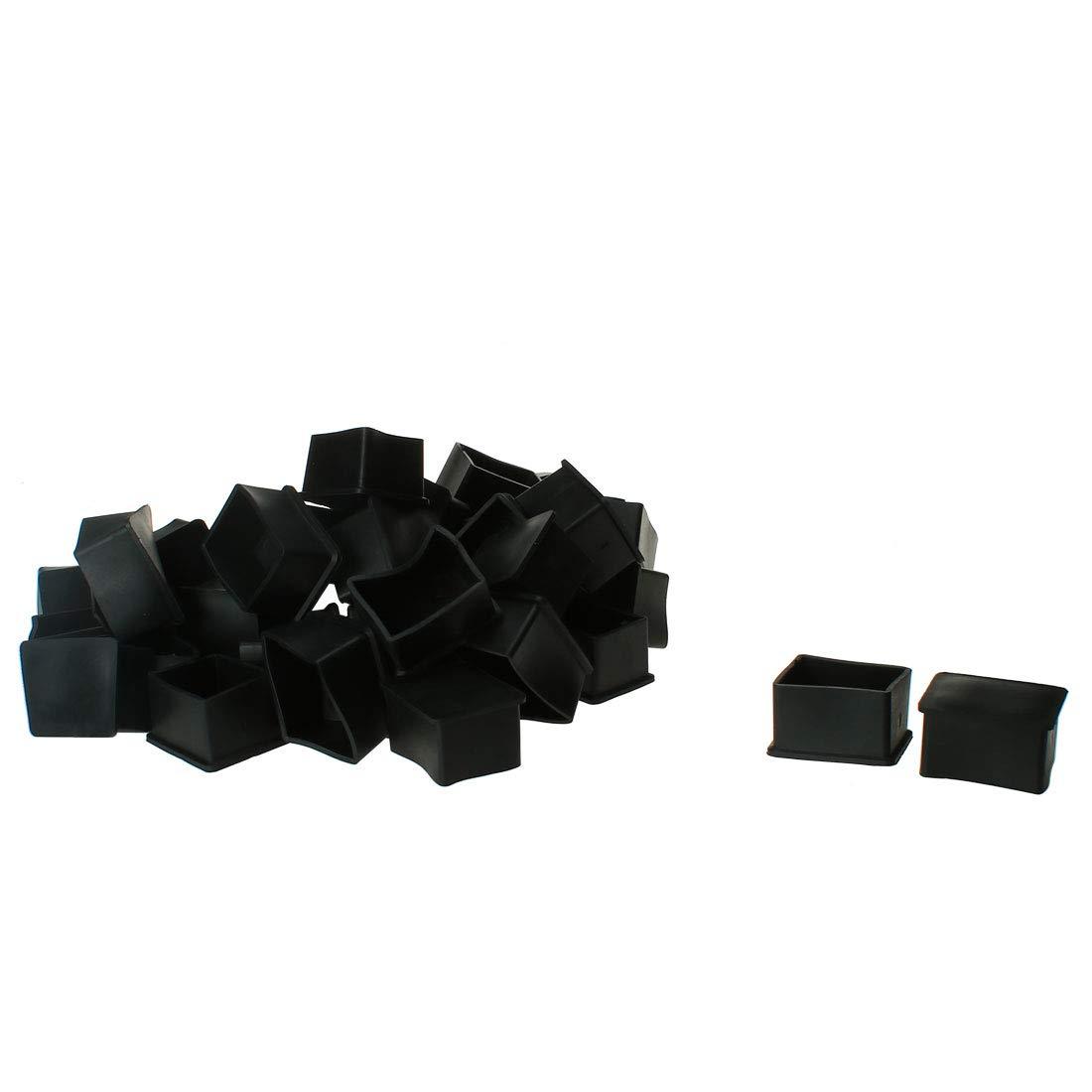 OKSLO Pvc leg caps tips feet cover 30x40mm 40pcs inner size prevent scratch for table