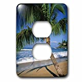3dRose LLC lsp_89649_6 Napili Beach, Maui, Hawaii, Usa Us12 Dpb0803 Douglas Peebles 2 Plug Outlet Cover