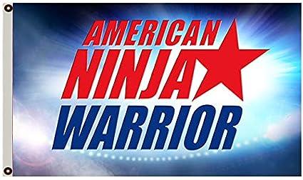 Amazon.com : Annfly American Ninja Warrior Flag Competition ...