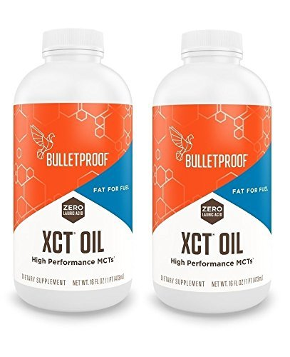 Bulletproof - XCT Oil, Reliable and Quick Source of Energy, 16 Fl Oz (Pack Of 2)