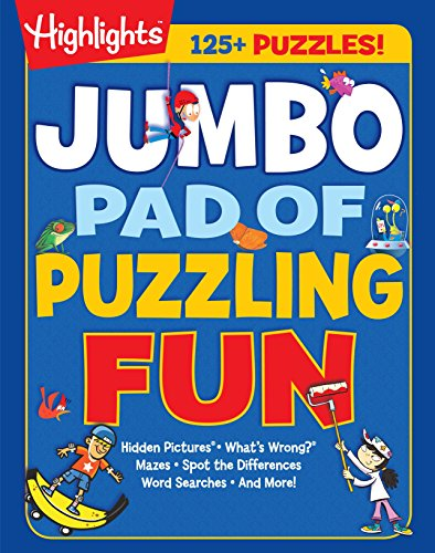 Jumbo Activity - Jumbo Pad of Puzzling Fun (Highlights Jumbo Books & Pads)