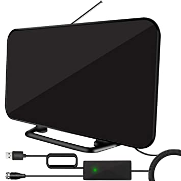 Best Ota Dvr 2020.Newest 2020 Indoor Tv Antenna Tv Antenna For Digital Tv 120 Miles Range With 19 6ft Long Coax Cable Support All Television For Free Local Channels 4k