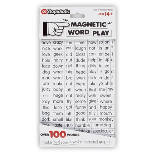 PG Rated Entrancing Word Play Magnet Set