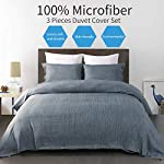 Vanansa-Microfiber-Duvet-Cover-Set-Ultra-Soft-and-Easy-Care-3-Piece-Bedding-Set-with-Button-Closure-Dark-Blue-Queen