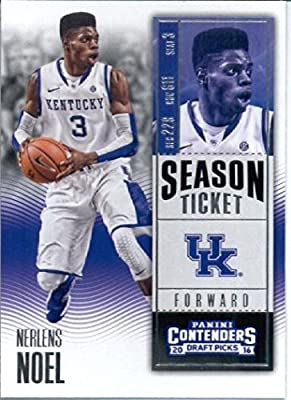 2016-17 Panini Contenders Draft Picks #73 Nerlens Noel Kentucky Wildcats Basketball Card