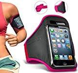 Karbonn Aura Note 4G Armband Sports Running Jogging Riding Gym Arm Band Cycling Holder Case Cover
