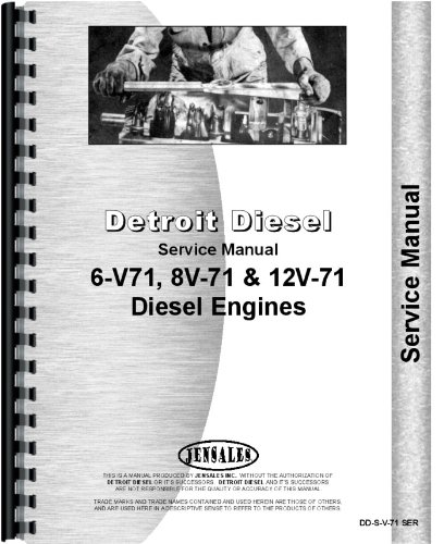 Wabco B-70 Elevating Scraper Detroit Diesel Engine Service ()