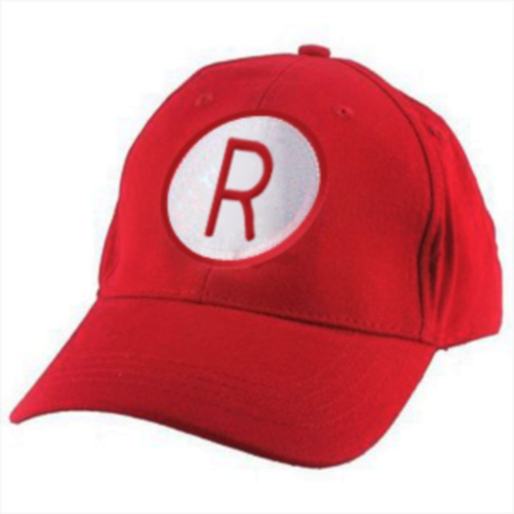 Rockford Peaches R Logo Red Baseball Cap MyPartyShirt