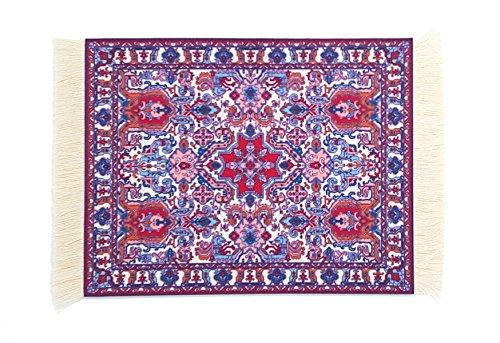- SUPCOW Magic Carpet Mouse Pads, Anti Slip Oriental Rug Mousepad