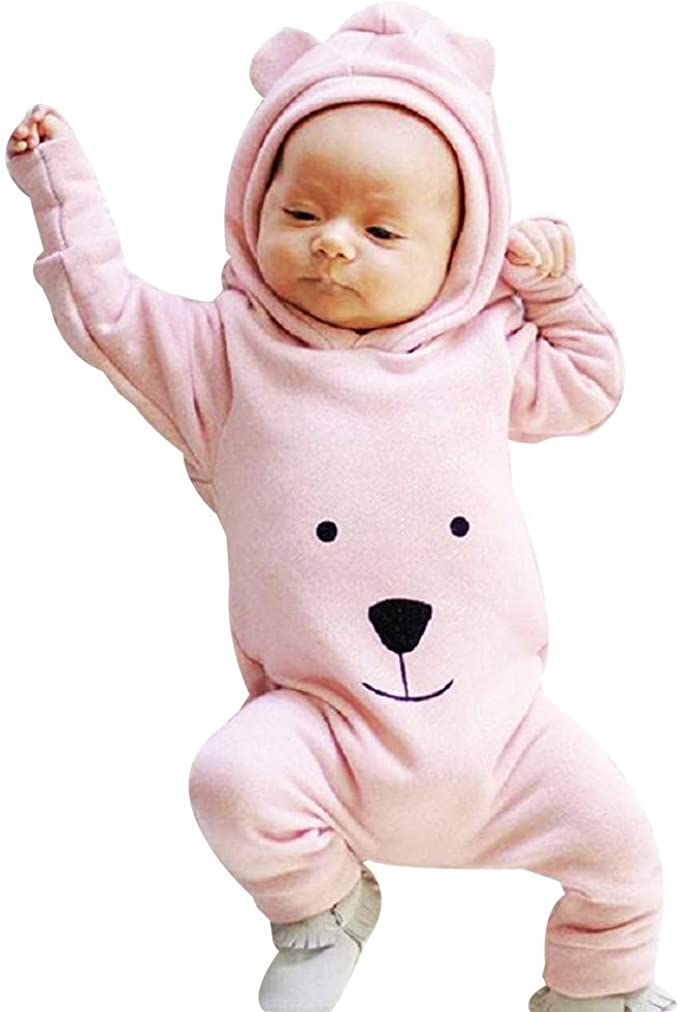 Lucoo Baby Rompers,Newborn Bodysuit Infant Baby Boy Girl Kids Romper Jumpsuit Clothes Outfit